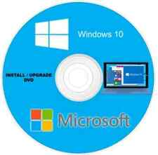 Windows 10 Home & Professional 64-Bit Upgrade/Install DVD/Full Version free post