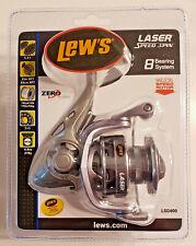 Lew's Laser G Speed Spin Lsg400 Freshwater Spinning Fishing Reel 5.2:1 Fast Ship