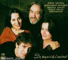 Du temps & de l'instant / Savall, Figueras, Savall - SACD