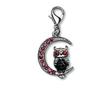 Original Bahnmüller Anhänger Dangle Charms Charm Eule (2,2 x 2,0cm) (110)