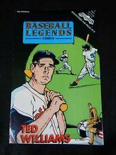 THE TED WILLIAMS STORY BASEBALL LEGENDS COMICS REVOLUTIONARY COMICS MAY 1992 #3