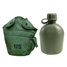 Military Outdoor Clothing Previously Issued U.S. G.I. 1 quart Olive Drab Mili...