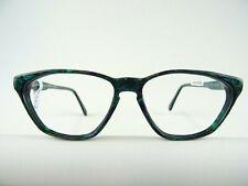 Schmetterlingsbrille Damenfassung MARC OLIVER grün-lila  große Glasform Gr. S