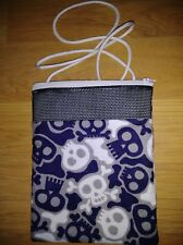 (Blue Skulls) Sugar Glider Bonding Pouch