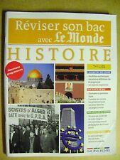 Livre Réviser son bac avec le Monde Histoire  Terminale  L  ES  /A33