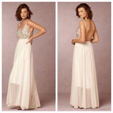 NEW Anthropologie BHLDN Raga Charlie Wedding Dress Size Large Bride Gown