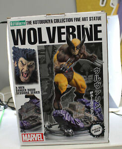 Kotobukiya Marvel Comics Wolverine (Brown Costume) Danger Room Sessions Statue
