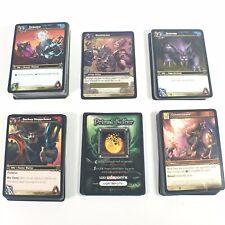 World Of Warcraft WoW Block Lot 150 Cards Drums Azeroth Slashdance