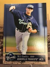 2018 Asheville Tourists Will Gaddis RC Rookie Colorado Rockies