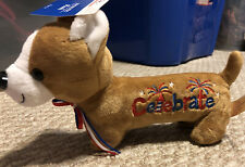 Nwt Pembroke Welsh Corgi Dog Plush Puppy 4th Of July Celebrate!
