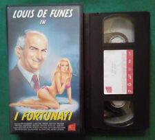 VHS FILM Ita Comico I FORTUNATI louis de funes pierre doris brunoy no dvd(VH94)