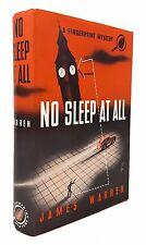 James Warren - No Sleep At All - FIRST EDITION, 1941 - Alliance Fingerprint Myst