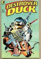 Destroyer Duck #7-1984 vf/nm 9.0 Jack Kirby / Siegel Steve Gerber Frank Miller