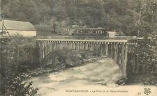 65 SAINT SAUVEUR le pont de la reine hortense