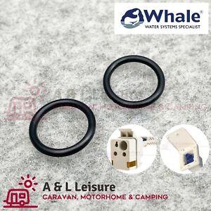 Whale Genuine Watermaster Inlet Socket Water Pump Housing Ring Seals - AK3031