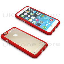 Crystal Bumper Hard Back Glass Mobile Case Cover TPU Rubber Sides Skin Shell