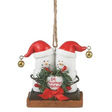 S'more Our First Christmas Together Ornament Free Ship USA