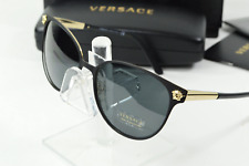 Brand New VERSACE Sunglasses VE 4381B 593//11 Transparent Grey//Gray Gradient