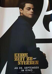 James Bond  - keine Zeit zum sterben - 007  -  A1 Filmplakat