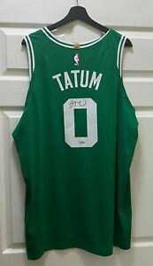 Jayson Tatum #0 Signed Boston Celtics Jersey Autographed NIKE Sz 56 FANATICS COA