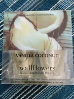 Bath And Body Works Wallflowers Refills 2-Pack Of Vanilla Coconut