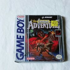 Castlevania The Adventure Nintendo Gameboy Complete Factory Sealed 1989