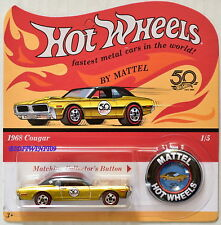 HOT WHEELS 2018 50TH ANNIVERSARY 1968 COUGAR REDLINE