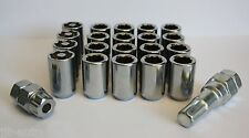 16 X M12 X 1.5 TUNER ALLOY WHEEL NUTS & LOCKING FIT HYUNDAI SANTA FE SONICA