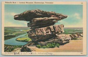 Chattanooga Tennessee~Umbrella Rock On Lookout Mtn~Vintage Postcard