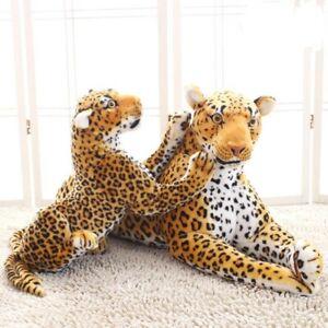 Plush Toy Simulation Leopard Jaguar Soft Stuffed Animals Doll Leopard Kids Gifts