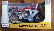 MAISTO 1:12 MV Agusta F3 Serie Oro 2012 MOTORCYCLE BIKE DIECAST MODEL