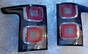 Land Rover OEM 2018+ Range Rover L405 Dark Taillight Pair Euro Spec No Markers
