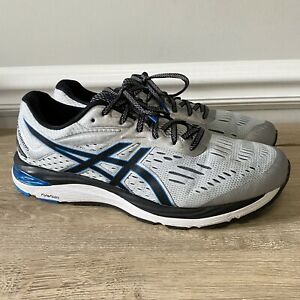 ASICS Gel-Cumulus 20 Men's Running Shoes Gray Black Blue Size 13