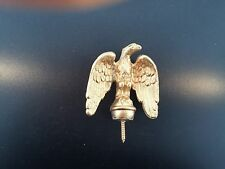 "Clock Eagle Finial  2 3/4"" tall x 2 1/2"" wide Antique Reproduction"