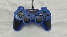 JOYPAD GAMETECH BLU PER SONY PLAYSTATION/PS2/PLAY2