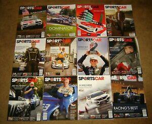 Sportscar Magazine whole year 2018 lot Publication Sports Car Club of America
