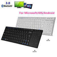 Universal Portable Wireless Bluetooth Keyboard with Touchpad Mouse for Computer