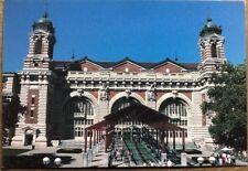 Main Building At Ellis Island New York-House Of Ellis Island Immigration Museum