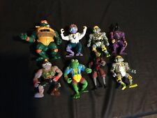 Lot Of 8 Teenage Mutant Ninja Turtles Action Figures Mix Lot Super Shredder