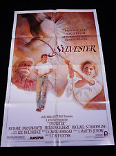 SYLVESTER 1985 * RICHARD FARNSWORTH * MELISSA GILBERT * TOM JUNG ARTWORK!!