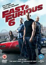 Fast & Furious 6 (DVD-2013, 1-Disc) Region 2,4.Dwayne Johnson.SUSPENSE & THRILLS