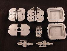 40K Space Marine Land Raider Left + Right Side Sponsons Assembly Complete Set