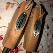 Set of Bostonian cedar shoe stretchers-prop
