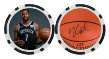 KEVIN DURANT / NEW JERSEY NETS - BALL MARKER / POKER CHIP ***SIGNED***