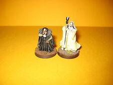 Herr der Ringe - Lord of the Rings - Grima + Saruman aus Metall V