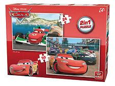 Disney Cars 3 Movie Lightning McQueen Jigsaw Puzzle 2-in-1 Box Set 05415