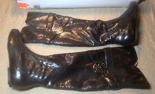 Kathy Van Zeeland Babe Black Boots NEW Size 6M Retail 139.00