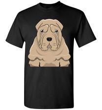 Chinese Shar-Pei Dog Cartoon T-Shirt Tee - Men Women Youth Kids Tank Long Sleeve