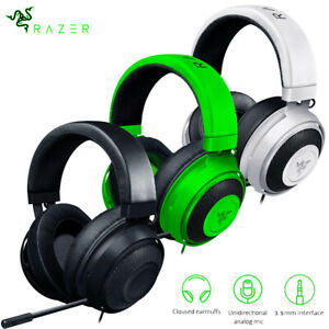 RAZER Kraken Pro V2 Analog Gaming Headset for PC Xbox One PS4 White Black Green