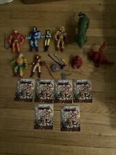 He-Man Masters Of The Universe Lot Of 7 Loose Figures With Accessories